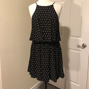 Layered Halter Dress